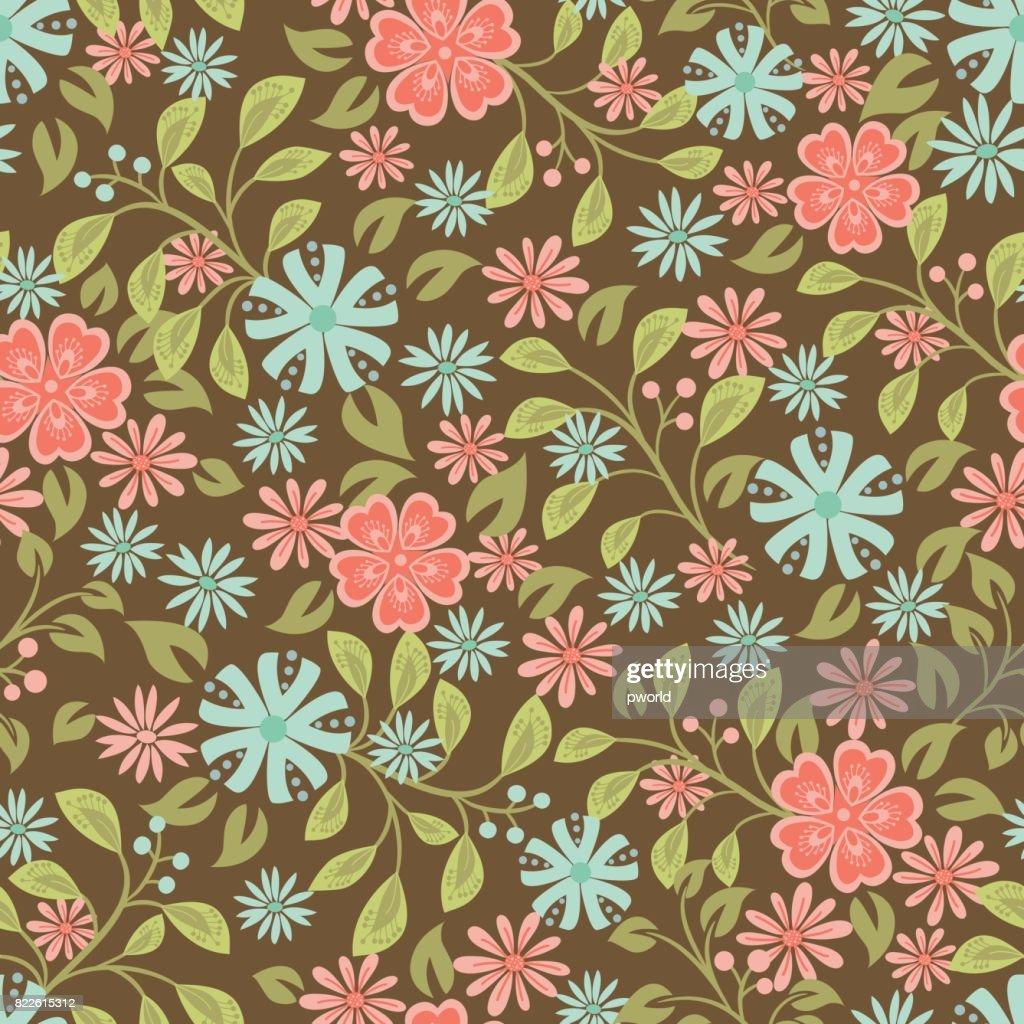 Floral seamless pattern . : stock illustration