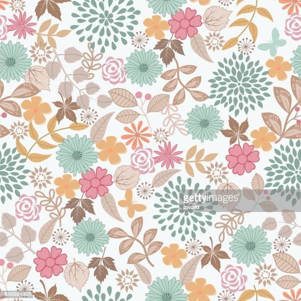 illustrations, cliparts, dessins animés et icônes de motif floral. - motif floral