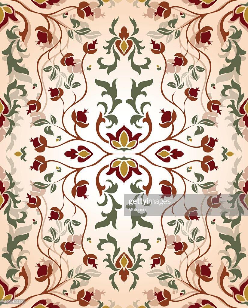 Floral vintage pattern.