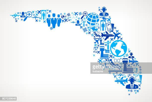 Florida Aviation and Air Planes Vector Graphic