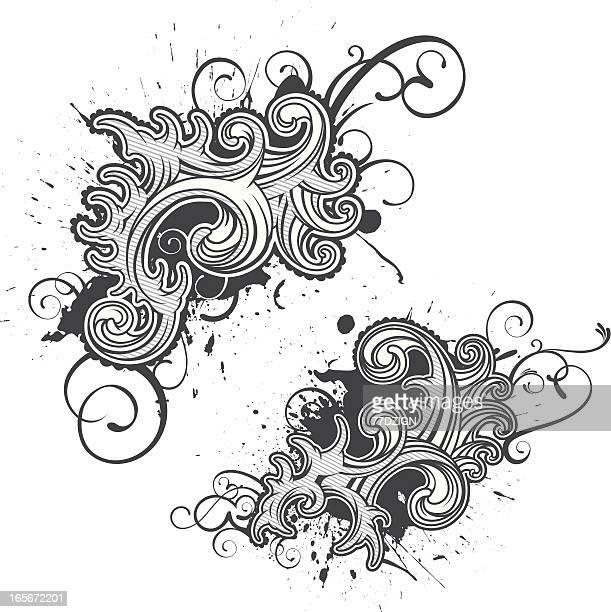 flourish swirls
