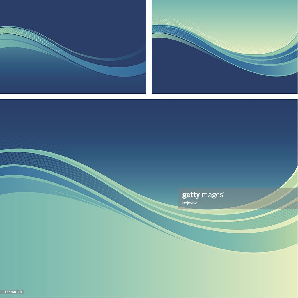 Flow background designs