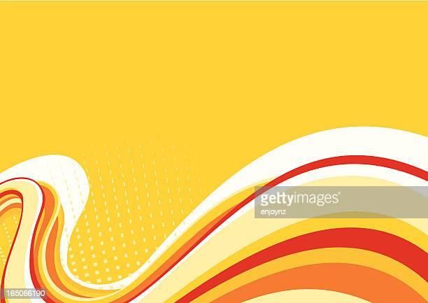 bildbanksillustrationer, clip art samt tecknat material och ikoner med flow background - värmebölja