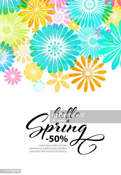 flower background - springtime stock illustrations