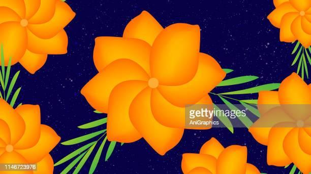 花の背景 - ジャスミン点のイラスト素材/クリップアート素材/マンガ素材/アイコン素材