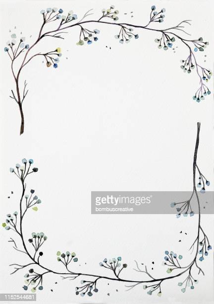 flower background - stem topic stock illustrations