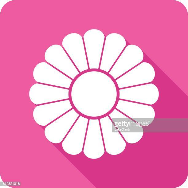 Flower Icon Silhouette 2