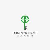 Flower Key Logo
