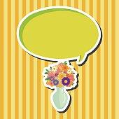 Flower pot theme elements