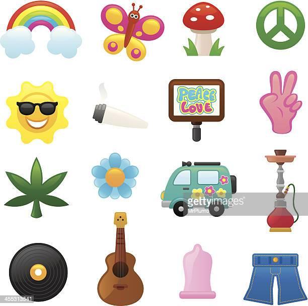 Flower power-icons/smoso series