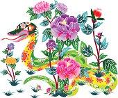 Flower Snake