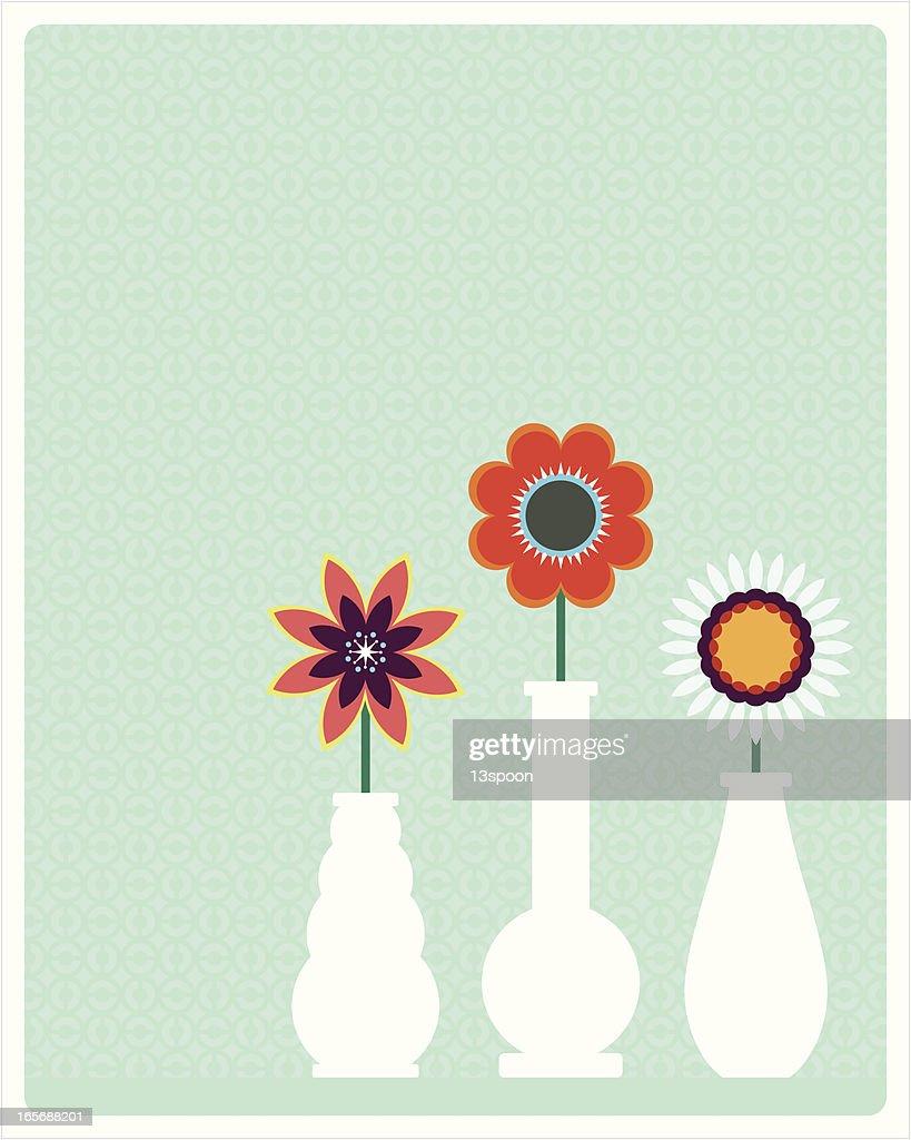 Flower Vase Trio