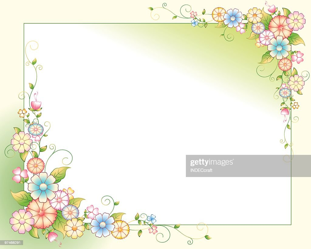 Flower_Filigree : stock illustration