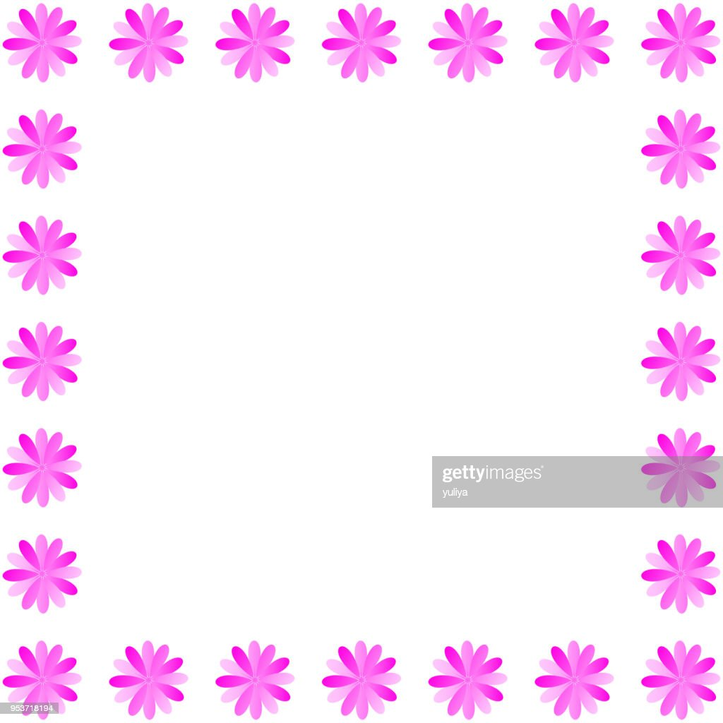 Flowers Mothers Day Background Brochure Banner Invitation Frame And