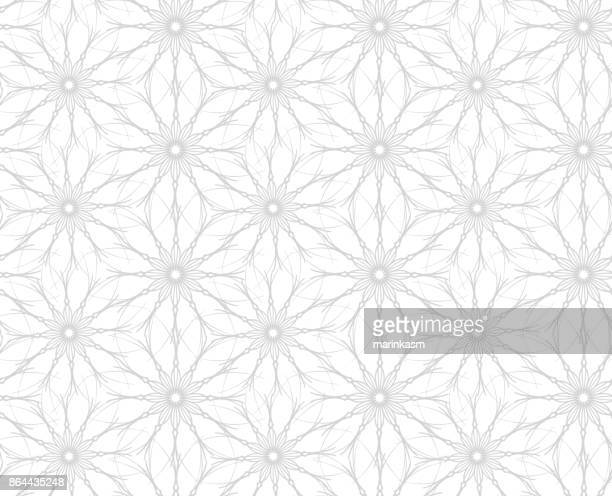 flowers. seamless pattern of flowers on white background - girly wallpapers stock illustrations