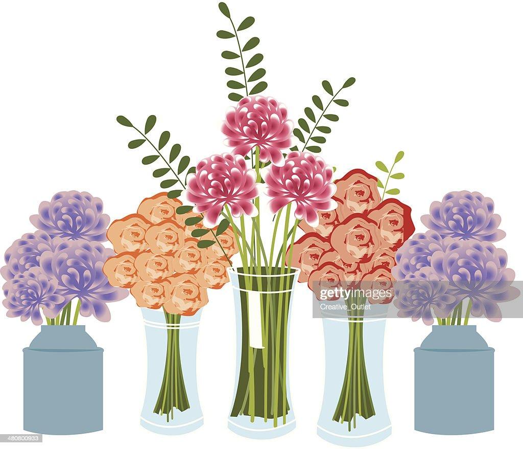 Flowers Vases C