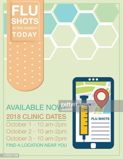 Flu Vaccine Stock Illustrations And Cartoons