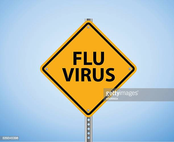 Flu Virus Warning Sign