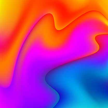 Fluid colors Abstract Background - gettyimageskorea
