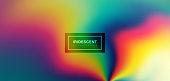 Fluid iridescent multicolored background.