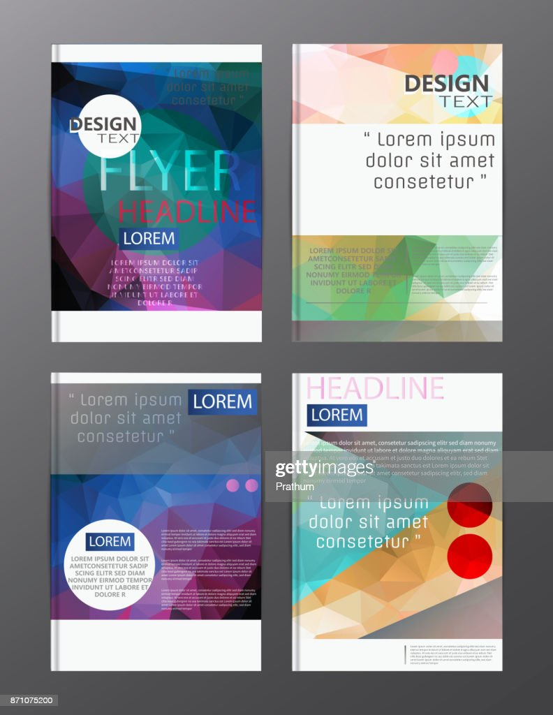 flyer design business annual report brochure template. cover presentation abstract background for business, magazines,