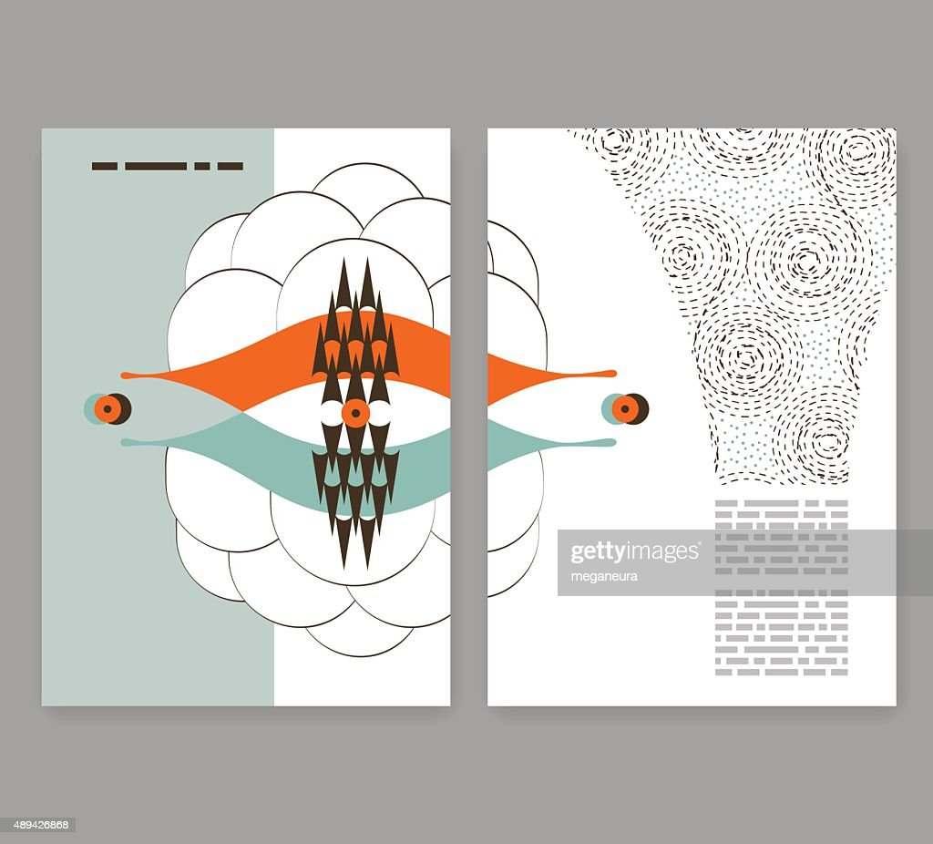 flyer leaflet booklet layout editable design template pattern
