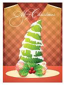 Flyer or Banner for Christmas celebration.