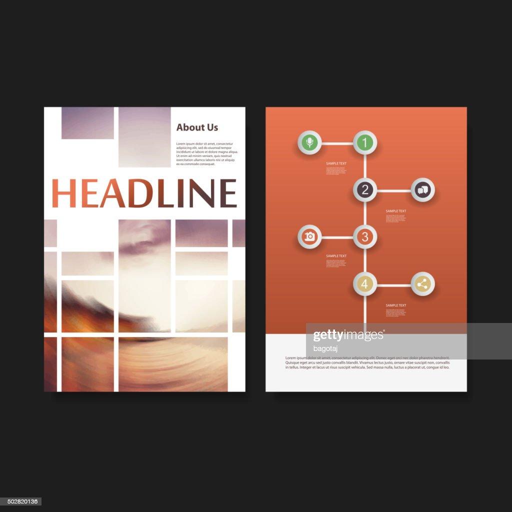 Flyer or Cover Design Set