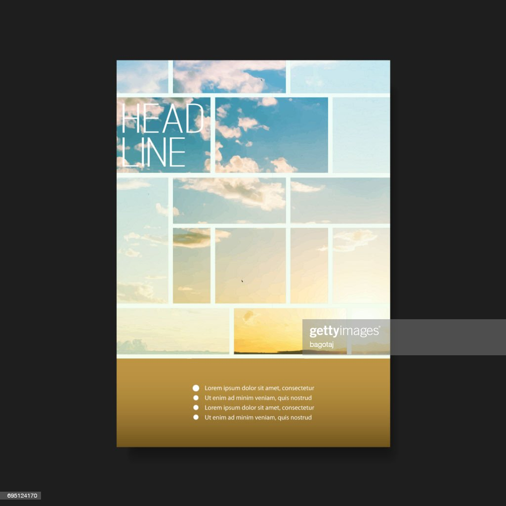 Flyer or Cover Design - Sunset