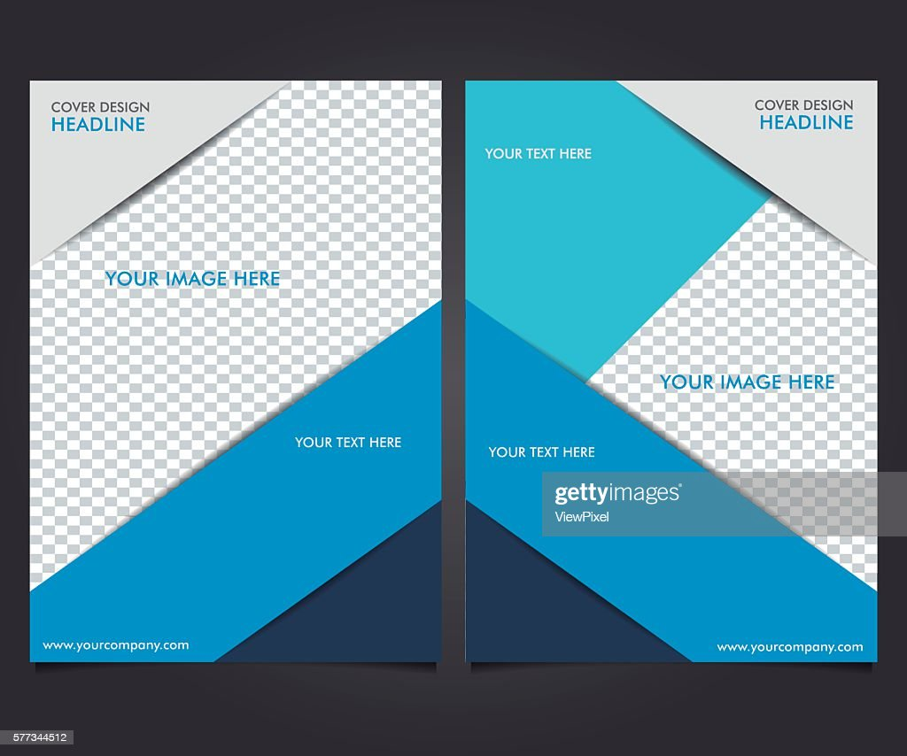 Flyers Design Template, Business Brochure Report