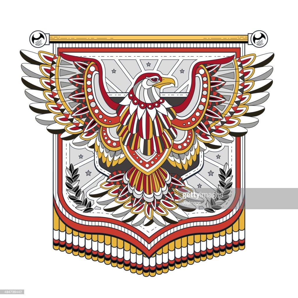 flying eagle flag