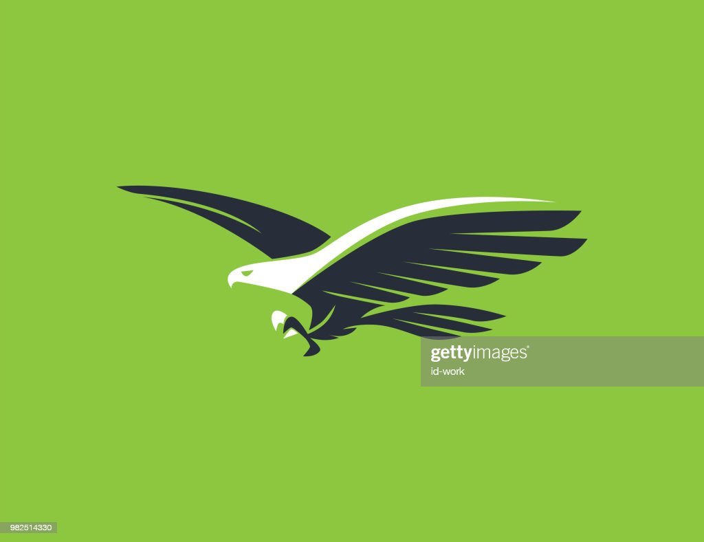 flying eagle symbol : stock vector