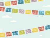 Flying Fiesta Flags