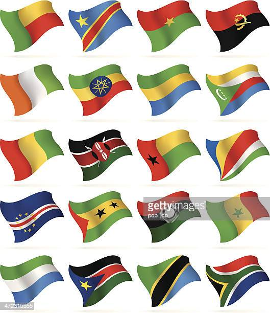 Flying Flags Collection-Afrika
