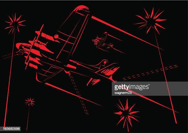 ilustrações de stock, clip art, desenhos animados e ícones de boeing b-17 bomber - segunda guerra mundial