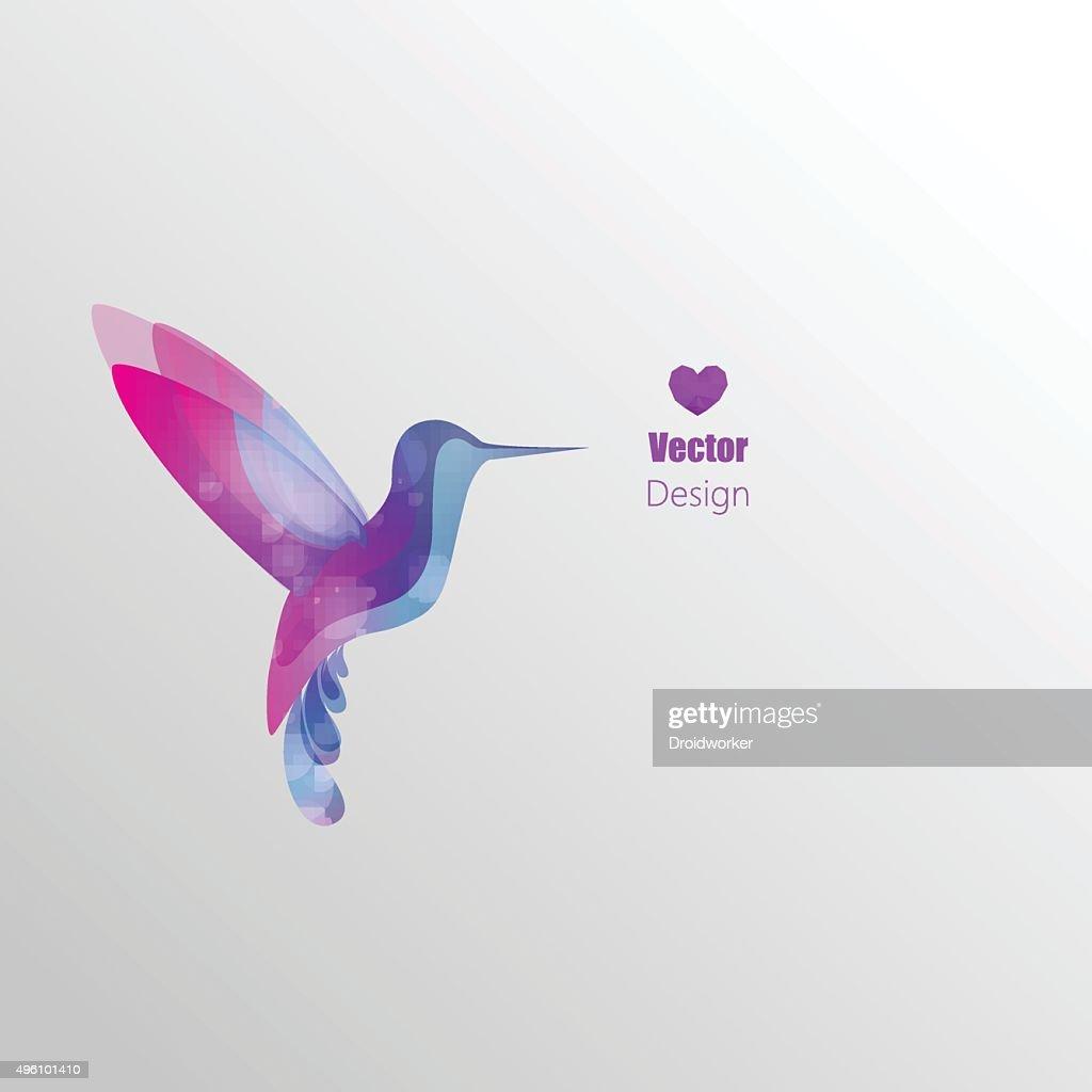 Flying hummingbird, Design