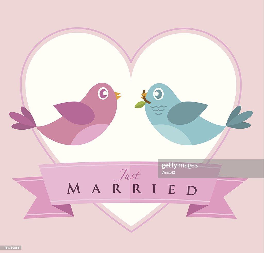 Flying Love Birds