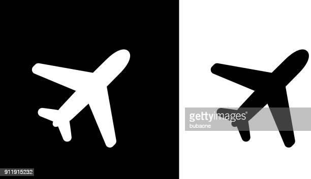 flying plane. - aeroplane stock illustrations