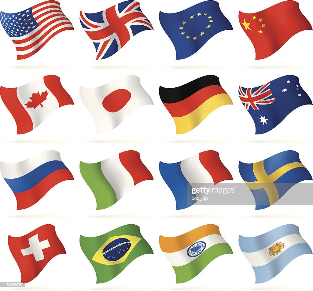 Flying Popular Flags