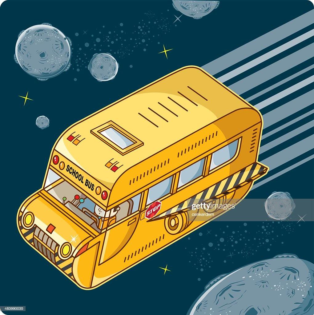 flying school bus