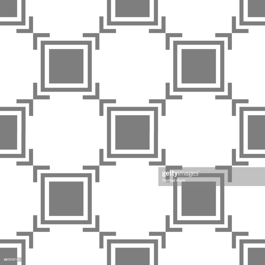Focus icon. Element of minimalistic icons for mobile concept and web apps. Pattern repeat seamless Focus icon can be used for web and mobile apps