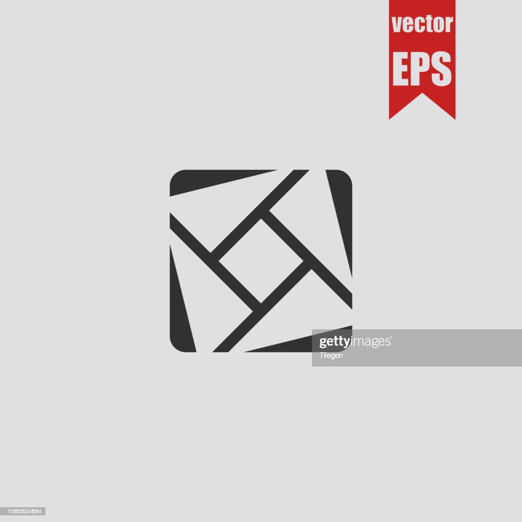 Focus icon.Vector illustration.