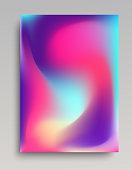 Folded gradient backdrop