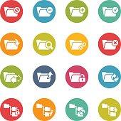 Folder Icon Set 1 // Fresh Colors
