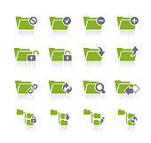 Folder Icon Set 1 // Natura Series