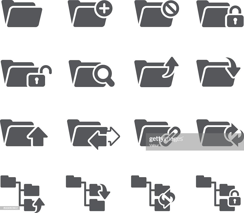 Folder Icon Set 1 of 2