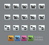 Folder Icon Set 1 // Satinbox Series