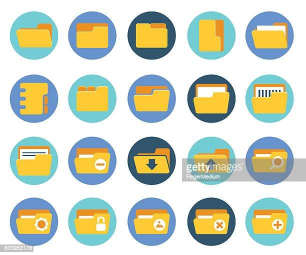 ilustrações, clipart, desenhos animados e ícones de ícone de pasta de bater - portfolio
