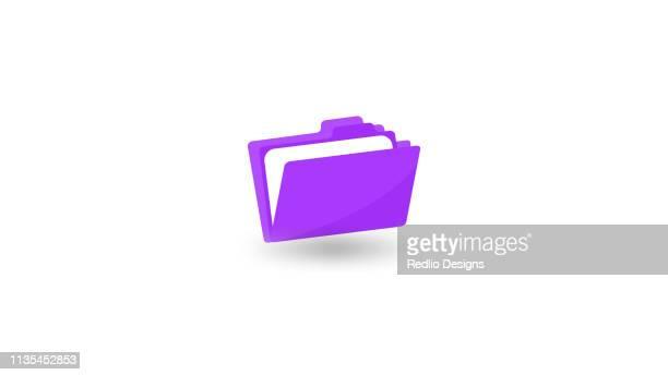 folder icon - file stock illustrations