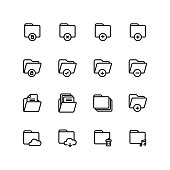 Folder Office Business Icon Set